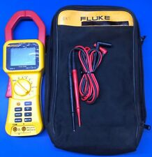 Fluke 355 AC/DC Clamp Meter 2000 Amps True RMS - With Case And Leads (21250066)
