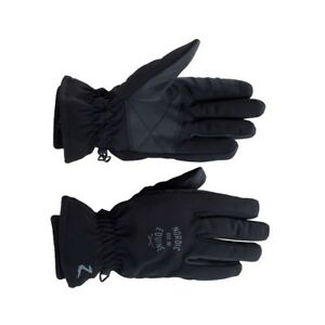 1 Pair Lined Water And Windproof Gloves Size 6-9