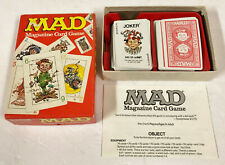 VINTAGE PARKER BROTHERS MAD MAGAZINE CARD GAME COMPLETE 1980