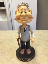 #1 OLDIE  Elderly Man With Cane Bobblehead