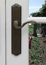 Privacy Door Lever Handles  Ambassador Right Hand Satin Brushed Chrome
