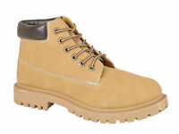 Mens Boys Honey Work Walking Hiking Casual Fashion Ankle Boot Size UK 6 7 8 9 10