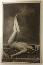 ORIGINAL FRENCH EROTIC RPPC NUDE SEXY POST CARD #11 Jean Agelou?