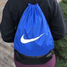 a788851f4416 NEW Nike Brasilia Drawstring Training Gymsack Blue Bag Workout Travel Logo  Gift