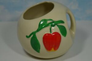 Vintage 40's AMERICAN PIPPIN APPLE POTTERY