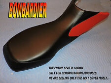 Bombardier Can Am DS650 New seat cover 2000-07 CanAm DS 650 Black/red 815A