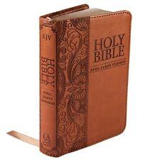 Holy Bible: KJV Mini Pocket Edition: Tan (King James Bible)
