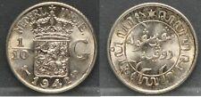 Nederlands Indie - Netherlands Indies - 1/10 Gulden 1942 S - very nice!