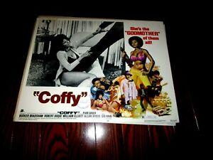 COFFY,  ORIGINAL LOBBY #5, FABULOUS PAM GRIER, 1973