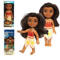 Princess Moana Doll 16cm PVC Action Figure Toys Moana Action Figures Baby Gift