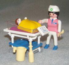 City Life Playmobil Mid-esposa y bebé Set 3979 completa en muy buena condición