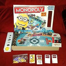 Hasbro Despicable Me 2 MONOPOLY Minion Board Game Complete 2012 Excl Minions