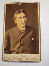 Nürnberg - Mann im Anzug - Portrait / CDV