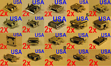 Lot of 60 (30x2) Micro USB Charging Port Sample Models for Tablet Phone USA