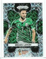 2018 Panini Prizm World Cup Soccer Miguel Layun (Mexico) Lazer PRIZM #137