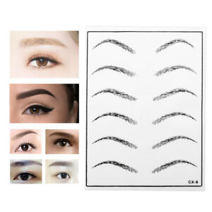 Permanent Makeup Eyebrow Tattoo Practice Skin Fake Training Skin Tattoo Supplies