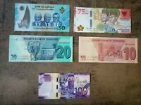 Great 2020 Banknotes Set Pick New Indonesia Namibia Zimbabwe Kenya UNC