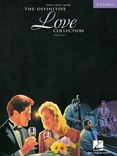DEFINITIVE LOVE COLLECTION (DEFINITIVE COLLECTIONS) By Hal Leonard Corp. VG