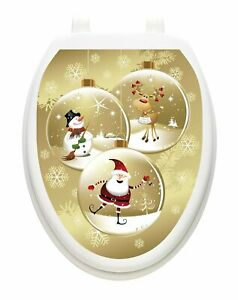 Tattoos Bathroom Lid Cover Vinyl Cover Snow Globes  Free Shipping
