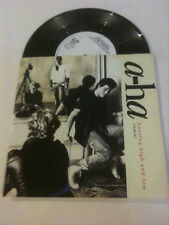"""A-HA 'Hunting High And Low' (Remix) 1986 UK 7"""" Single - The Blue Sky"""