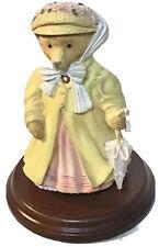 The Upstairs Downstairs Bears Dept 56 Mrs Henrietta Bosworth Figurine Socialite