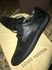 Louis Vuitton Men's casual leather and suede shoes LV Size 8 US Size 9