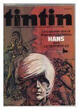 TINTIN N° 256 1980 BOB MORANE COMMANDO EPOUVANTE (prépublication)  ARCHIVES ea