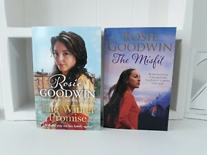 Collection of 2 x Paperback Saga Books - Rosie Goodwin - The Winter Promis - NEW