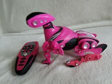 WowWee Robopet 2005 Pink Full Function Interactive Control Dog  With Remote