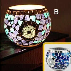 Moroccan Candle Holder Glass Candles Sticks Lamp Romantic Elegant Dinner Decor