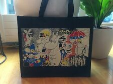 Moomin bag large eco tote bag purse reusable shopping tote, Finland,polypropen