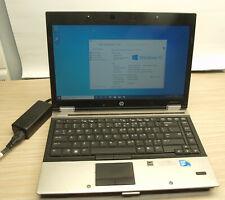 HP EliteBook 8440p 14in Notebook Intel Core i5 2.4GHz 4GB 250GB Windows 10