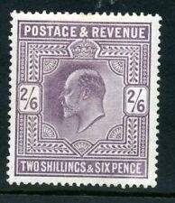 GB 1902 2/6 ord paper clean MH sg 260