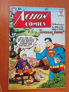 DC Action Comics, Vol. 1 # 232 (1st Print) The Story Of Superman, Junior