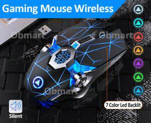 Wireless Mouse Gaming wireless rechargeable mouse led wireless ergonomic mouse