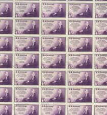 1935 #754 Mother's Day imperf. Full Mint Sheet Of 50 Mnh Farley Issue