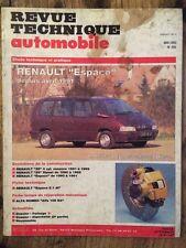 Revue Technique Automobile RENAULT Espace moteurs 4 cyl. essence et diesel