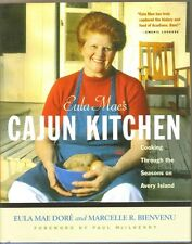 Eula Mae's Cajun Kitchen Avery Island Louisiana Recipe Cookbook 1st Edition 2002