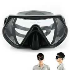 Scuba Diving Snorkeling Mask Googles Professional Anti-Fog Glasses Swimming