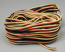 Hitec 57417 Servo Wire 50' 3 Color