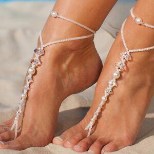 1pcs Starfish Barefoot Sandals Bridal Foot Jewelry Beach Destination S