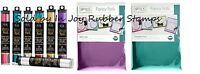 ThermoWeb Deco Foil Transfer Sheets Purple Teal Magenta Emerald Rose Gold Pewter
