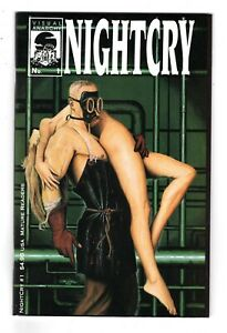 NIGHTCRY 1, NM- (9.2) AUTOGRAPHED BY THOMAS O'CONNOR, EVIL ERNIE (SHIPS FREE)*