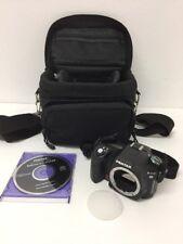 PENTAX K100D SLR Digital Camera W/ Carrying Bag & CD Software