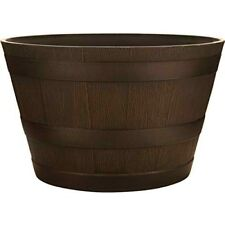 """SOUTHERN PATIO HDR-007197 Wine Barrel Planters, 15"""""""