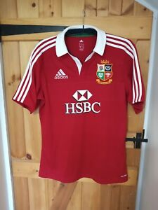 """BRITISH LIONS 2013 AUSTRALIA RUGBY UNION SHIRT BY ADIDAS SIZE LARGE 42/44"""" - NEW"""