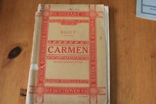 Bizet -Carmen: Novello's Original Octavo Edition -  Vintage Songbook - 152 pages