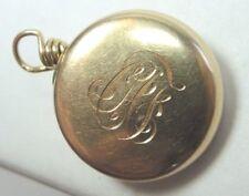 Antique Vintage Estate Retro 14K Nurses Pin 14K Yellow Gold Ketcham & McDougall