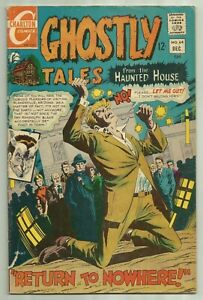 """Ghostly Tales #64 Charlton 1967 """"Return to Nowhere!"""""""