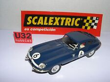 SCALEXTRIC SPAIN PLANETA COCHES MITICOS JAGUAR E TYPE 1961 #6 LTED.ED. MINT